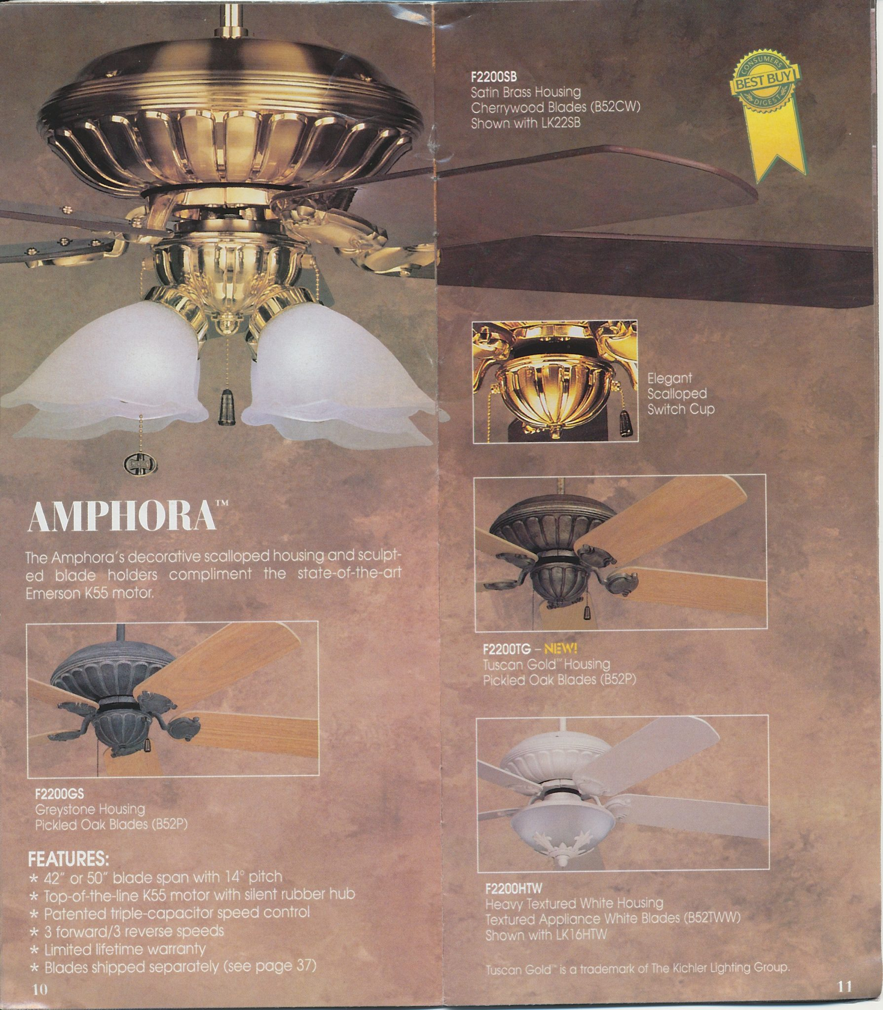 Emerson catalog 1997 for The emrson