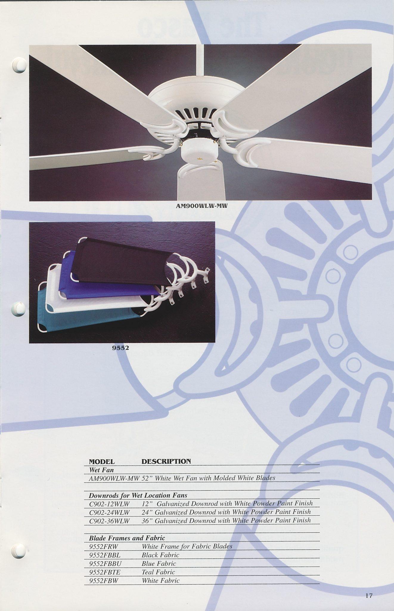 Fasco Mini Catalog 1995