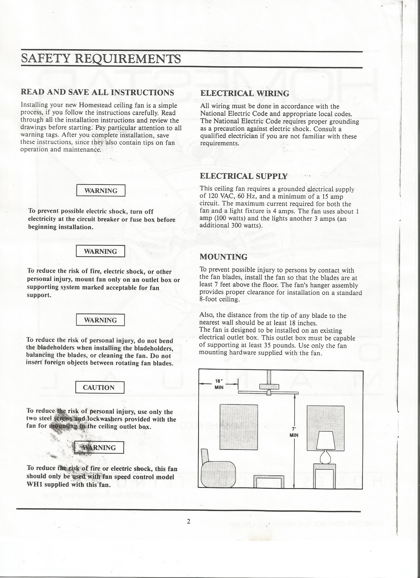 Homestead ceiling fan wiring diagram image collections